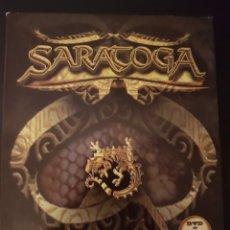 CDs de Música: SARATOGA. 1992 2004. CD, DVD Y LIBRO. AVISPA. Lote 148058269