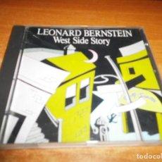 CDs de Música: WEST SIDE STORY BANDA SONORA LEONARD BERNSTEIN CD ALBUM 1992 ESPAÑA CONTIENE 5 TEMAS. Lote 148068926