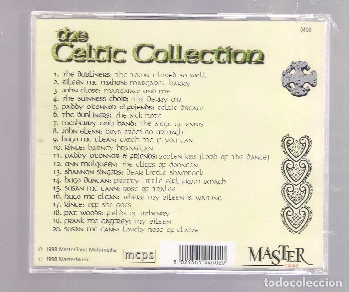 CDs de Música: VARIOS - The Celtic Collection (CD 1998, Master Tone 0400) - Foto 2 - 148081678