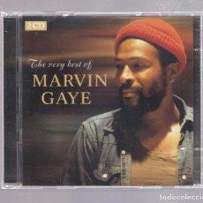 CDs de Música: MARVIN GAYE - THE VERY BEST OF MARVIN GAYE (2CD 2007, UNIVERSAL 984 420-1). Lote 148083090