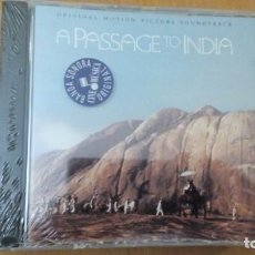 CDs de Música: A PASSAGE TO INDIA CD BANDA SONORA ¡¡PRECINTADO¡¡. Lote 148084794