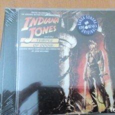CDs de Música: INDIANA JONES AND THE TEMPLE OF DOOM CD PRECINTADO. Lote 148085738