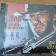 CDs de Música: FOR A FEW DOLLARS MORE CD ENNIO MORRICONE ¡¡PRECITNADO¡¡. Lote 148085930