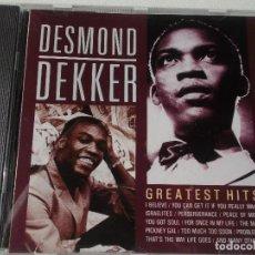 CDs de Música: DESMOND DEKKER GREATEST HITS. Lote 148193090