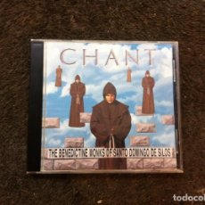 CDs de Música: CHANT. THE BENEDICTINE MONKS OF SANTO DOMINGO DE SILOS (CD) 1994. Lote 148210178