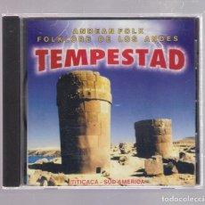 CDs de Música: TEMPESTAD - ANDEAN FOLK / FOLKLORE DE LOS ANDES, TITICACA - SUD AMERICA (CD EFECTO RECORD). Lote 148217582