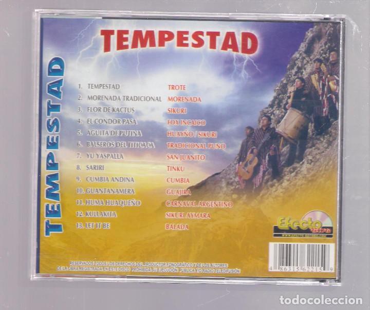 Musik-CDs: TEMPESTAD - Andean Folk / Folklore de los Andes, Titicaca - Sud America (CD Efecto Record) - Foto 2 - 148217582