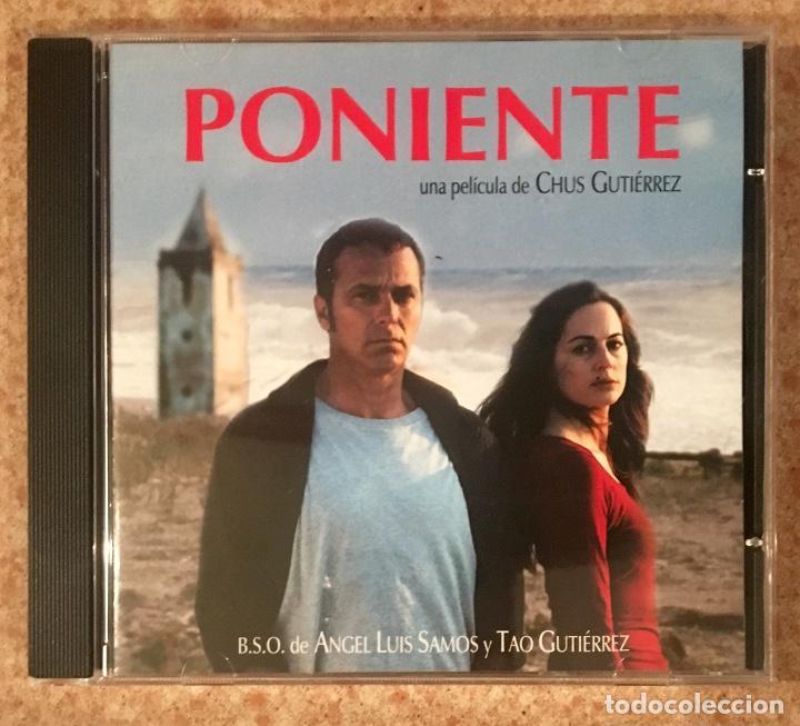 PONIENTE - CHUS GUTIÉRREZ (Música - CD's Bandas Sonoras)