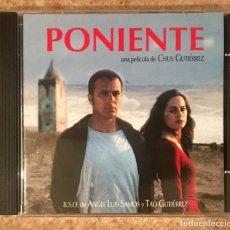 CDs de Música: PONIENTE - CHUS GUTIÉRREZ . Lote 148232262