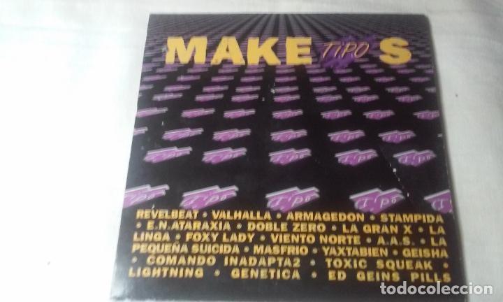 MAKETIPOS (MAQUETA DE DIVERSOS GRUPOS PATROCINADO POR TIPO) CD AÑO 2001 (Música - CD's Rock)