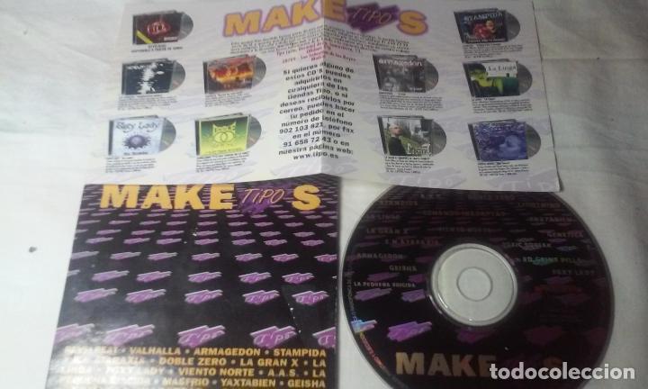 CDs de Música: MAKETIPOS (MAQUETA DE DIVERSOS GRUPOS PATROCINADO POR TIPO) CD AÑO 2001 - Foto 2 - 148236878