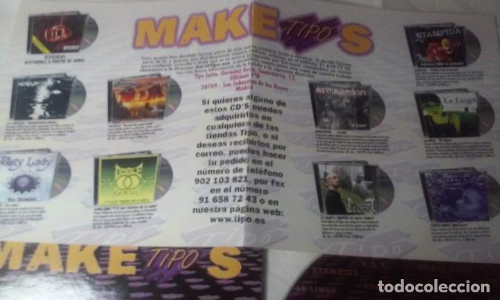 CDs de Música: MAKETIPOS (MAQUETA DE DIVERSOS GRUPOS PATROCINADO POR TIPO) CD AÑO 2001 - Foto 3 - 148236878