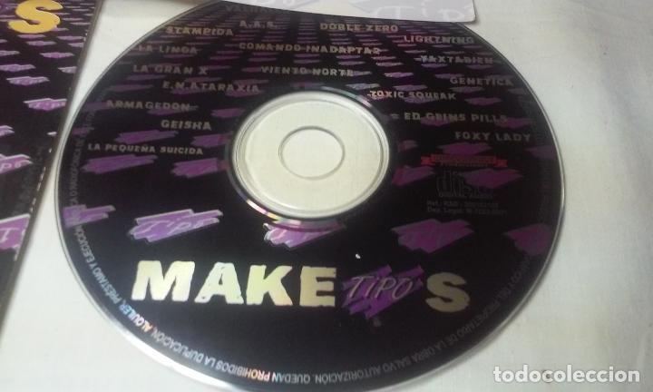CDs de Música: MAKETIPOS (MAQUETA DE DIVERSOS GRUPOS PATROCINADO POR TIPO) CD AÑO 2001 - Foto 4 - 148236878