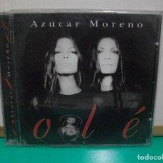 CDs de Música: AZÚCAR MORENO - OLÉ - CD ALBUM PEPETO. Lote 148283650