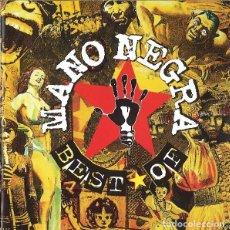 CDs de Música: MANO NEGRA. BEST OF MANO NEGRA. VIRGYN 7243 8 46684 2 6 . 1998. Lote 148286938