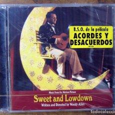 CDs de Música: BSO - SWEET AND LOWDOWN, ACORDES Y DESACUERDOS - DICK HYMAN - 1999 - PRECINTADO - WOODY ALLEN. Lote 148303362