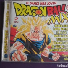 CDs de Música: DRAGON BALL MIX 2 CDS 1997 - ELECTRONICA TECHNO - HOUSE - LIGERAS SEÑALES DE USO. Lote 148307830