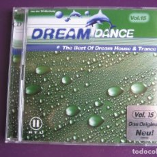 CDs de Música - Dream Dance 15 DOBLE CD 2000 - ELECTRONICA EURO HOUSE TECHNO TRANCE - SIN USO - 148309018