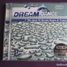 CDs de Música - Dream Dance 18 DOBLE CD 2000 - ELECTRONICA EURO HOUSE TECHNO TRANCE - SIN USO - 148309574