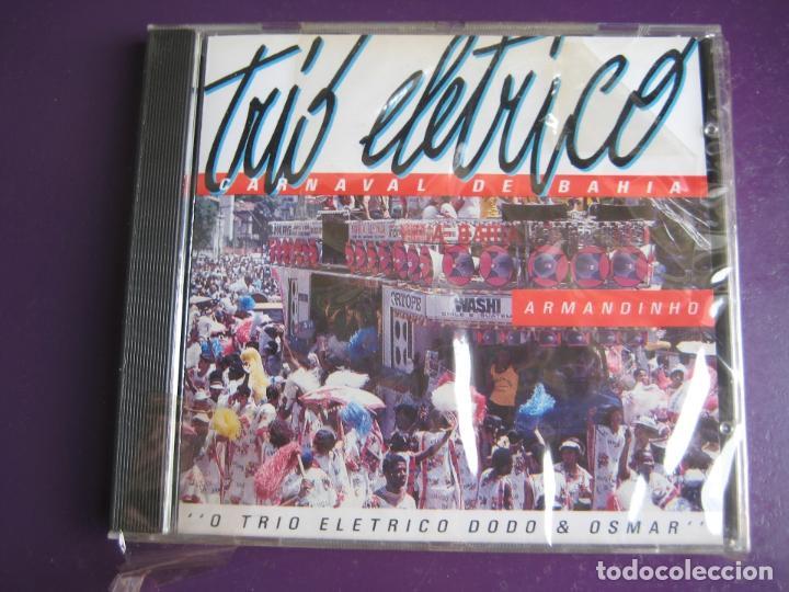 TRIO ELETRICO CD RGE FRANCIA 1990 - CARNAVAL DE BAHIA - BRASIL - MPB - FORRO - BANDA CARMEN MIRANDA (Música - CD's Latina)