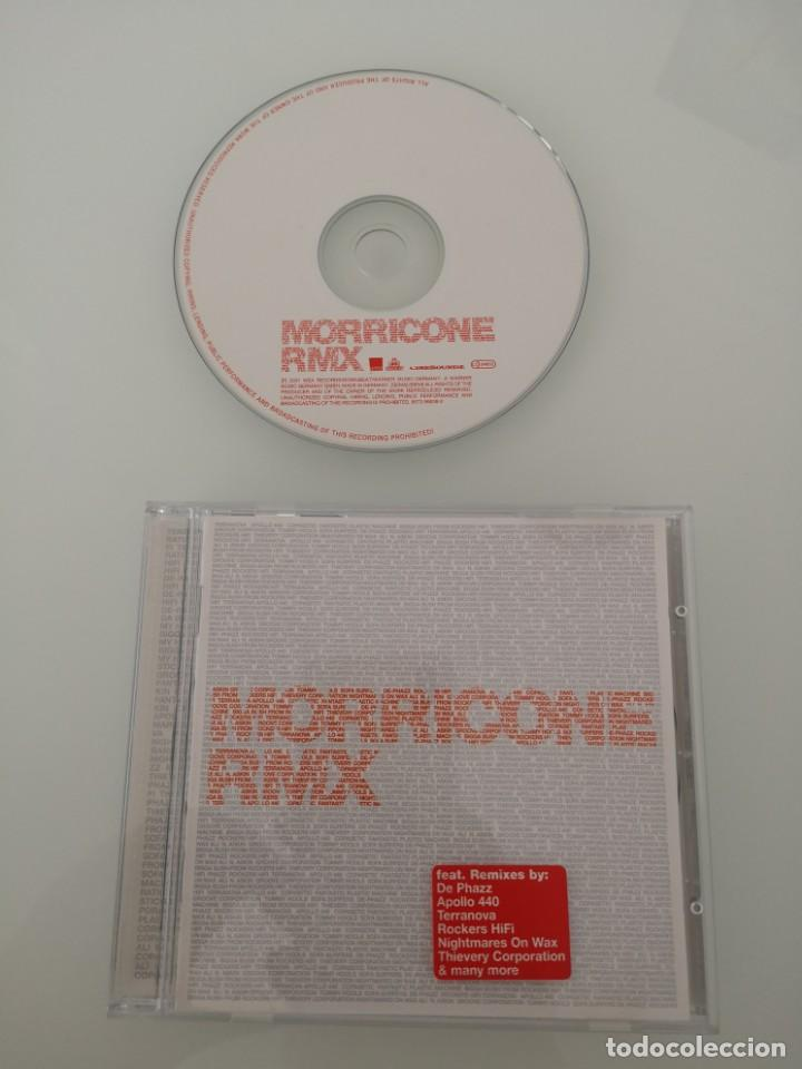 MORRICONE CD REMIXES APOLLO 440 TERRANOVA ROCKERS HIFI (Música - CD's Otros Estilos)