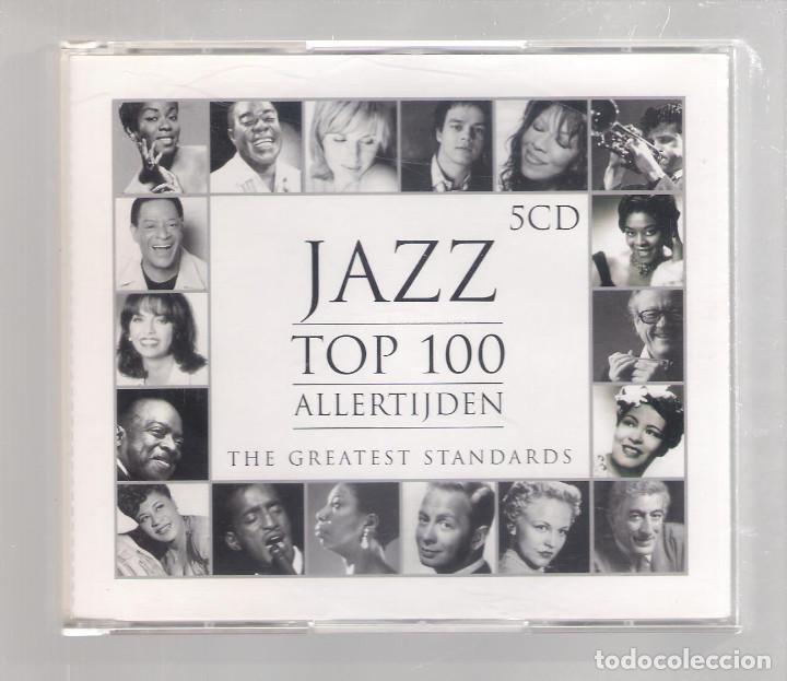 VARIOS - JAZZ TOP 100 ALLERTIJDEN (THE GREATEST STANDARDS) (5CD 2005, UNIVERSAL 982 931-1) (Música - CD's Jazz, Blues, Soul y Gospel)