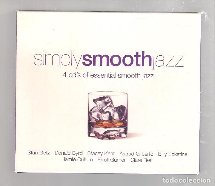 VARIOS - SIMPLY SMOOTH JAZZ (CAJA 4 CD 2004, SIMPLYCD006) (Música - CD's Jazz, Blues, Soul y Gospel)