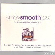 CDs de Música: VARIOS - SIMPLY SMOOTH JAZZ (CAJA 4 CD 2004, SIMPLYCD006). Lote 148319530