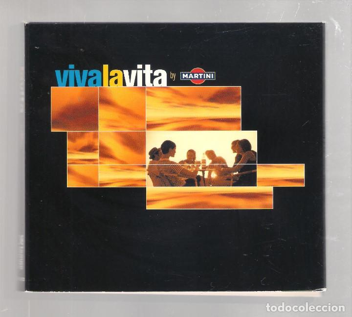 VARIOS - VIVA LA VITA BY MARTINI (2CD DIGIPAK 2001, TEMPO MUSIC TM0302CD ) (Música - CD's Jazz, Blues, Soul y Gospel)