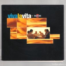 CDs de Música: VARIOS - VIVA LA VITA BY MARTINI (2CD DIGIPAK 2001, TEMPO MUSIC TM0302CD ). Lote 148321766