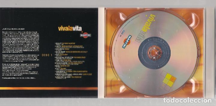 CDs de Música: VARIOS - Viva La Vita By Martini (2CD digipak 2001, Tempo Music TM0302CD ) - Foto 5 - 148321766