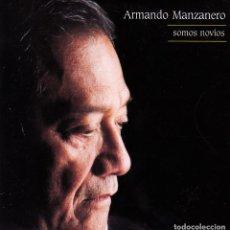 CDs de Música: ARMANDO MANZANERO CON LOLITA - SOMOS NOVIOS CD SINGLE 1 TEMA PROMO 2000. Lote 148324026