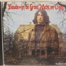CDs de Música: BOUDEWIJN DE GROOT - NACHT EN ONTIJ - 1994 - CD - HOLANDA - NM+/EX+. Lote 148324186