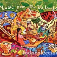 CDs de Música: VARIOUS - MUSIC FROM THE TEA LANDS (CD, COMP) LABEL:PUTUMAYO WORLD MUSIC CAT#: PUT 180-2 . Lote 148353262