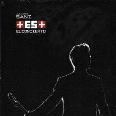 CDs de Música: ALEJANDRO SANZ - ES MAS - EL CONCIERTO - CD+DVD. Lote 148358770