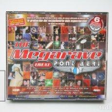 CDs de Música: TRIPLE CD DE MÚSICA - THE MEGARAVE LIVE AT PONT AERI - TEMPO MUSIC - AÑO 2002. Lote 148406477