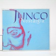 CDs de Música: CD DE MÚSICA - JUNCO / NOSTALGIA - SINGLE DEL DISCO DE AMOR YA NO SE MUERE - HORUS - AÑO 1997. Lote 148408584
