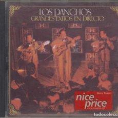 CDs de Música: LOS PANCHOS CD GRANDES ÉXITOS EN DIRECTO 1993. Lote 148462154