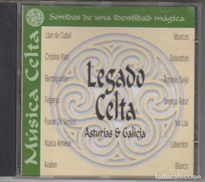 MÚSICA CELTA CD LEGADO CELTA ASTURIAS & GALICIA (Música - CD's Country y Folk)