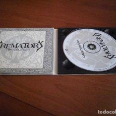 CDs de Música: CREMATORY- REVOLUTION DIGI PACK. Lote 148474670