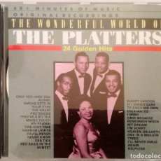 CDs de Música: THE PLATTERS- 24 GOLDEN HITS. Lote 148489094
