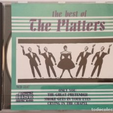 CDs de Música: THE BEST OF THE PLATTERS. Lote 148489362