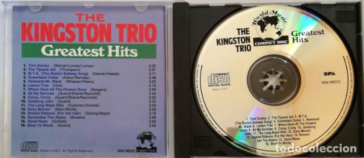 CDs de Música: THE KINGSTON TRIO: GREATEST HITS - Foto 3 - 148490514