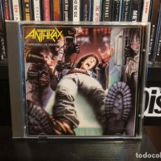 CDs de Música: ANTHRAX - SPREADING THE DISEASE. Lote 148520466