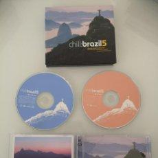 CDs de Música: CHILL BRAZIL 5 DOBLE CD NUEVO . Lote 148531342