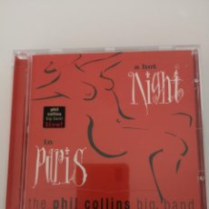CDs de Música: PHIL COLLINS BIG BAND LIVE 1999 A HOT NIGHT IN PARIS CD NUEVO . Lote 148533754