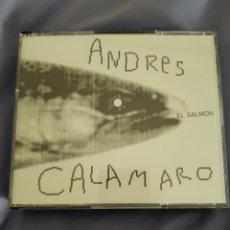 CDs de Música: 5CDS ANDRÉS CALAMARO. EL SALMÓN. Lote 148549006