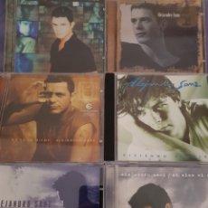CDs de Música: LOTE ALEJANDRO SANZ. 6 CDS. Lote 148549890