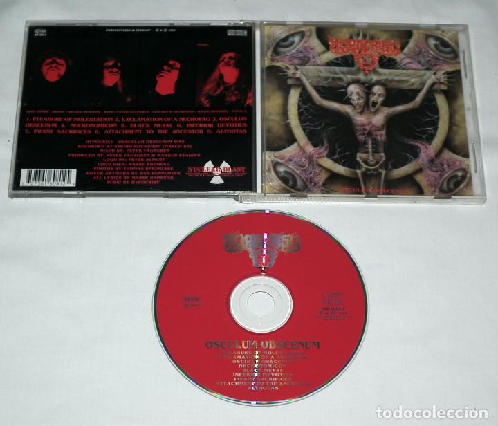 CDs de Música: CD HYPOCRISY - OBSCULUM OBSCENUM - Foto 2 - 148551894