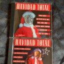 CDs de Música: LOTE NAVIDAD TOTAL VOLÚMENES 1 Y 2 MAX MUSIC. Lote 148569798